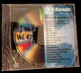 PIONEER KARAOKE CD+G CD MUSIC SONGS PROFESSIONAL SERIES POP/ROCK VOL 43