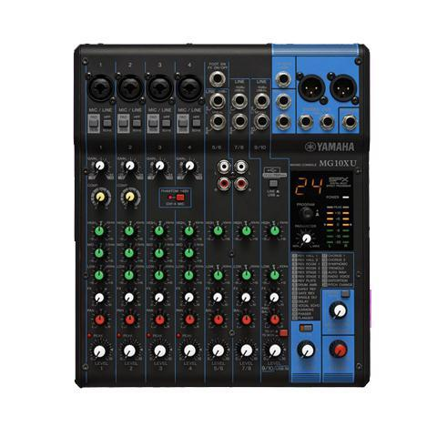 Yamaha MG10XU 10-Channel Compact Stereo Mixer & USB Audio Interface
