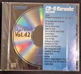 PIONEER KARAOKE CD+G MUSIC SONGS PROFESSIONAL SERIES POP/ROCK VOL 42