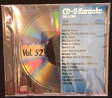 PIONEER KARAOKE CD+G MUSIC SONGS PROFESSIONAL SERIES POP/ROCK VOL 52