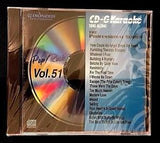 PIONEER KARAOKE CD+G SONGS MUSIC PROFESSIONAL SERIES POP/ROCK VOL 51