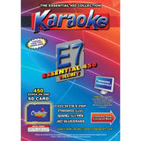 Chartbuster Essential 450 Vol. E7 - 450 KAREOKE MP3G SD Card  CDG Music 4 PLAYER
