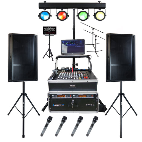 WEDDING KARAOKE SYSTEM, BLUETOOTH KARAOKE, PROFESSIONAL KARAOKE