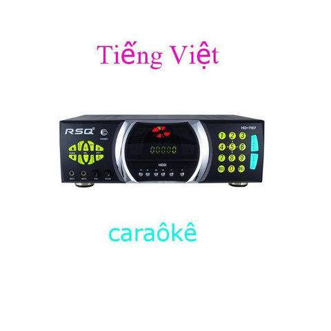 RSQ HD 787, Vietnamese Karaoke, Home Karaoke Player