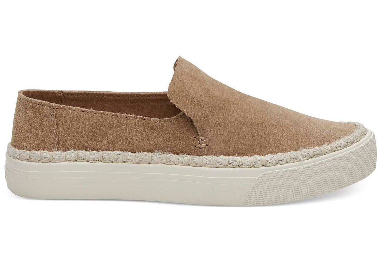 Suede Women's Sunset Slip Ons - Toffee