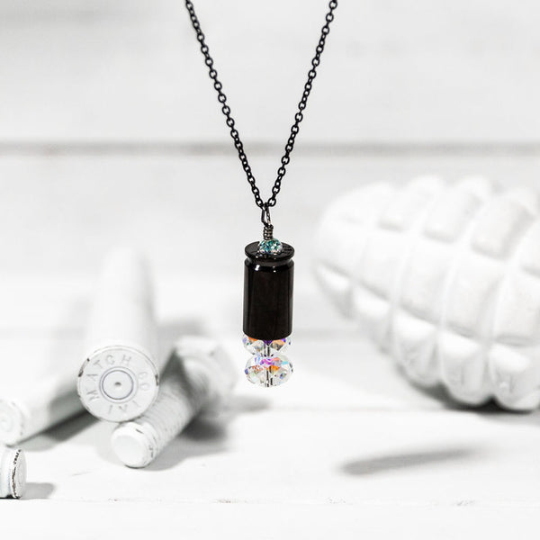 TITANIUM Shine Brighter Crystal Necklace