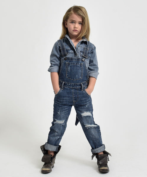 Kids hooligan overalls