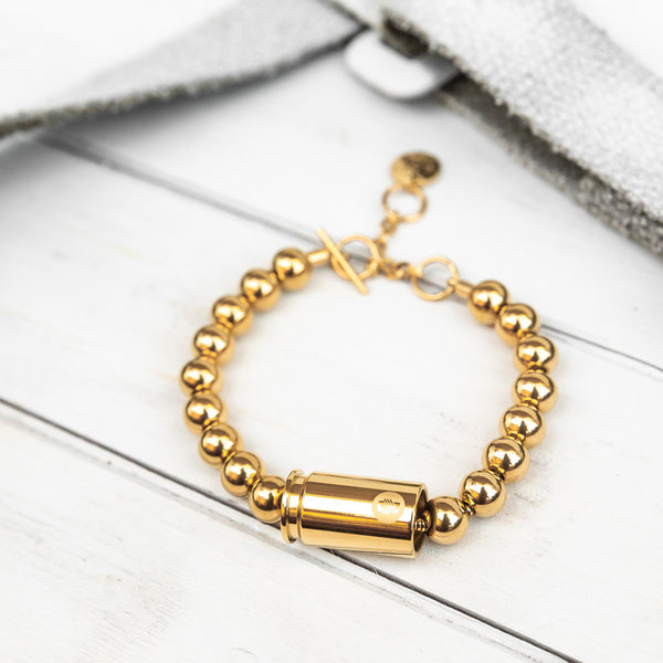 Special Forces Warrior Bracelet - Gold