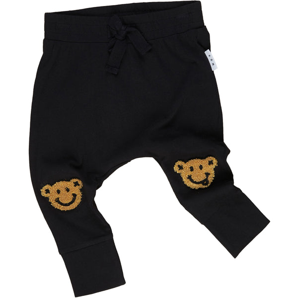 Happy Knees Drop Crotch Pant - Black