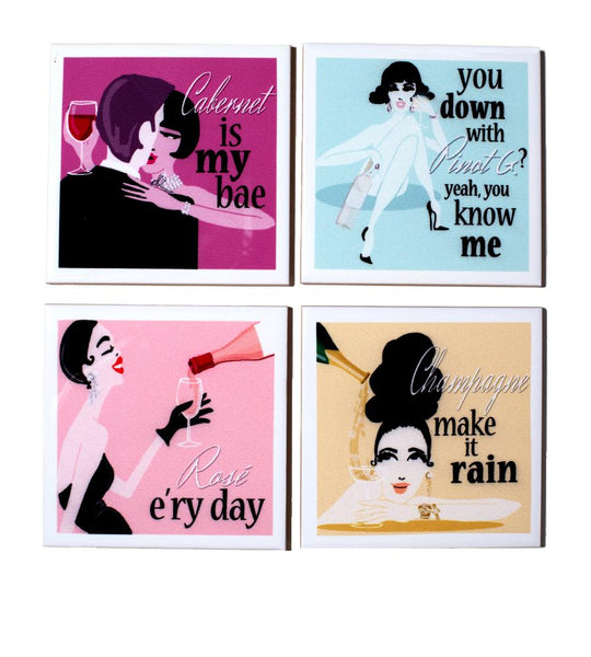 Darling Drinkers Fashion Coasters