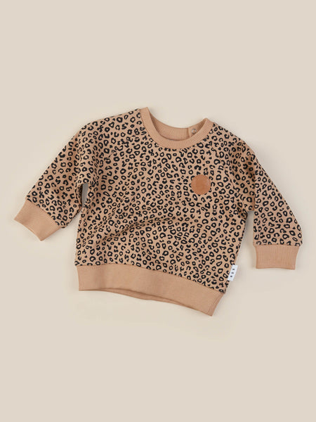 Animal Sweatshirt - Caramel