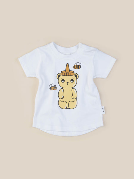 Honey Bear T-shirt - White