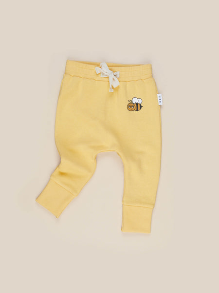 Honey Bee Drop Crotch Pant - Sunshine