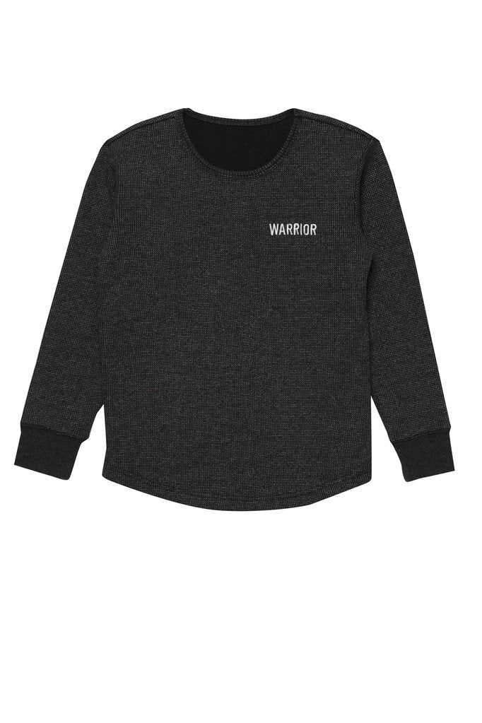 Warrior Thermal Long Sleeve - Vintage Black