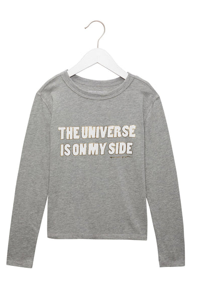 My Side LS Tee - Heather Grey