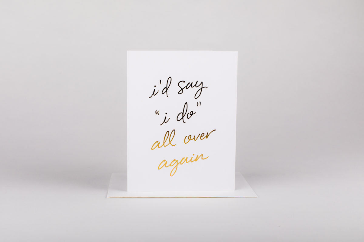 """I Do""... - Love Card"