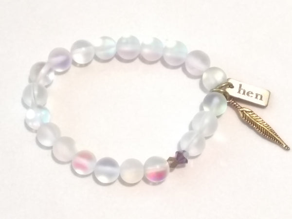 H & B Pure Moonstone Bracelet - Light