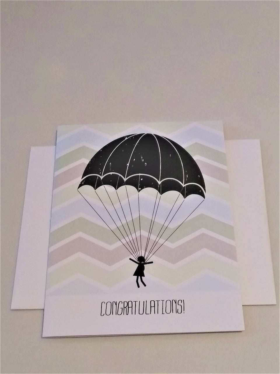 Congratulations - Just Because Card
