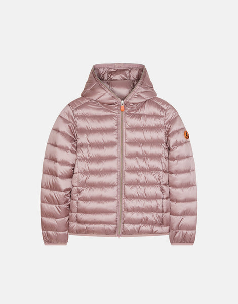 Dusty Rose Hooded Jacket