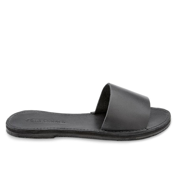 The Linda Sandal - Classic Black