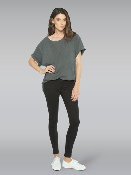 Harriet High Rise Skinny - Black