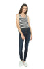 Harriet High Rise Skinny - Pacific