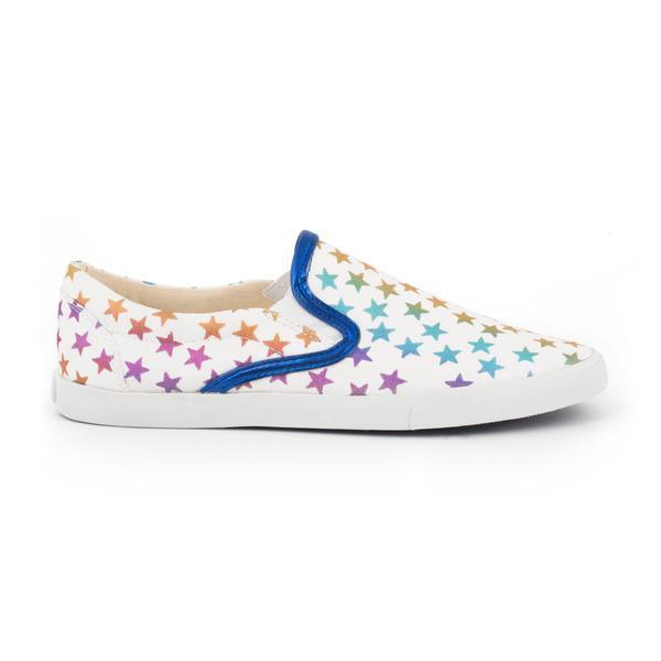 Rainbow Stars Slip On