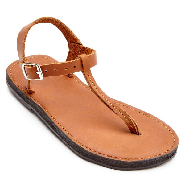 The Romana Sandal - Caramel