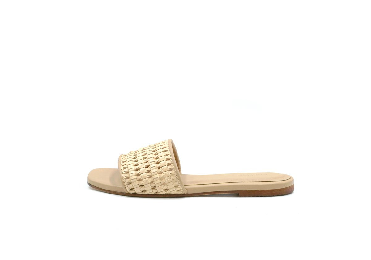 Key West Woven Slide - Natural