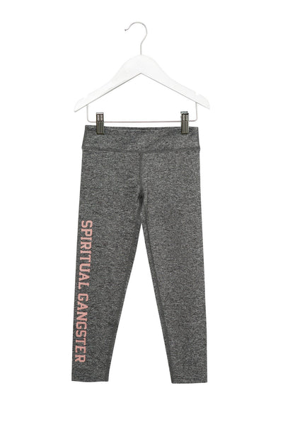SG Varsity Girl's Leggings - Heather Grey