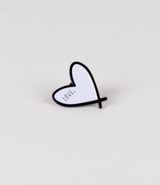 Love Heart (Purple) - Enamel Pin