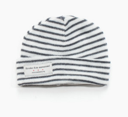 Newborn Hat - White