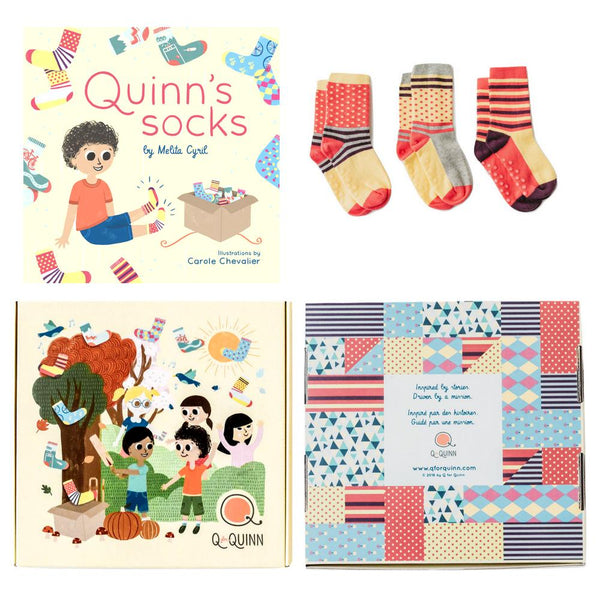 Book + Sock Combo - Types Of Stripes
