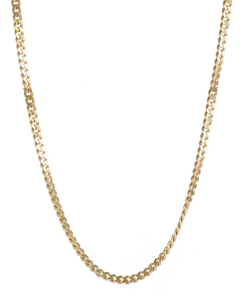 Zora Thick Curb Chain Necklace