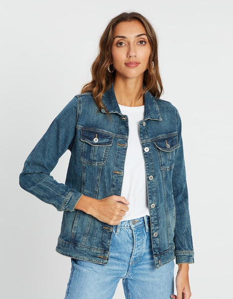 Ava Denim Jacket - Distilled