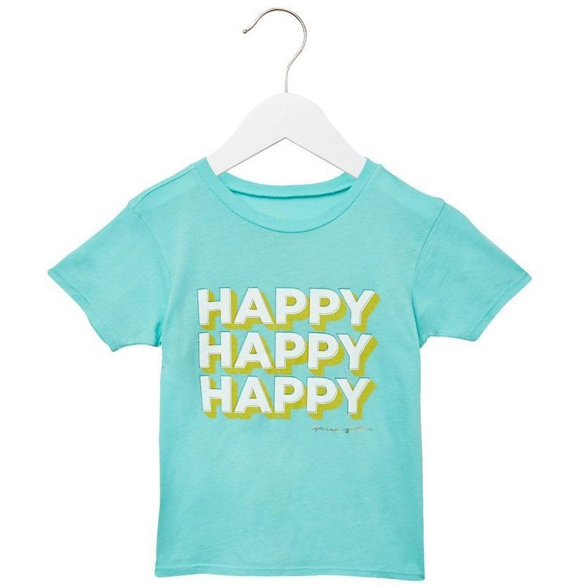 Kids Happy Tee - sage