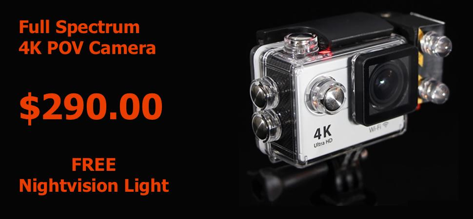 4K Full Spectrum Camera for Paranormal Equipment Australia