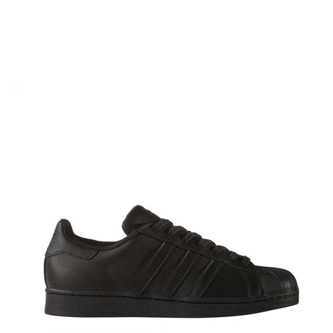 Adidas - Superstar Shoes - Black with Black Stripes - Carbon Crown Apparel