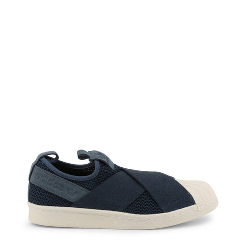 Adidas Shoes - Superstar-Slip-On - Blue - Carbon Crown Apparel