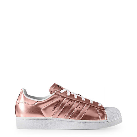 Adidas - Superstar Shoes - Metallic Pink/White Toe - Carbon Crown Apparel