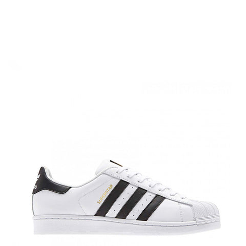 Adidas - Superstar White with Black Stripes - Carbon Crown Apparel