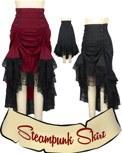 Steampunk Victorian Skirt