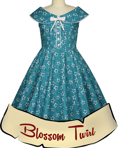 Blossom Retro Dress