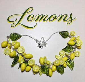 Pinup Lemon Necklace