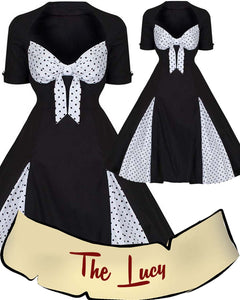 The Lucy Pinup Dress