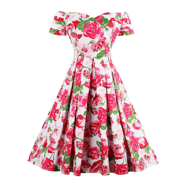 Sweet Valentine Pinup Dress