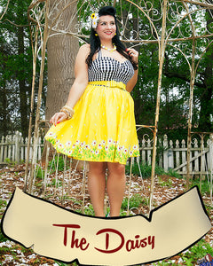 The Pinup Daisy Dress