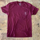 CBS Palm Pocket tee