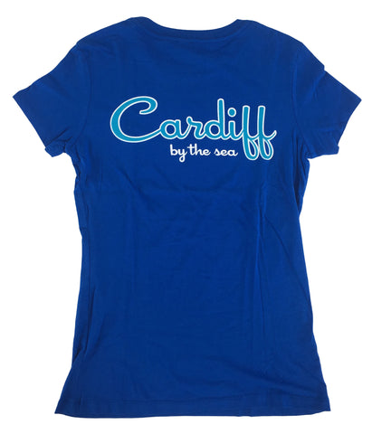 Women's CBS Short Sleeve Tee - Blue