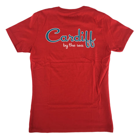 Women's CBS Short Sleeve Tee - Red